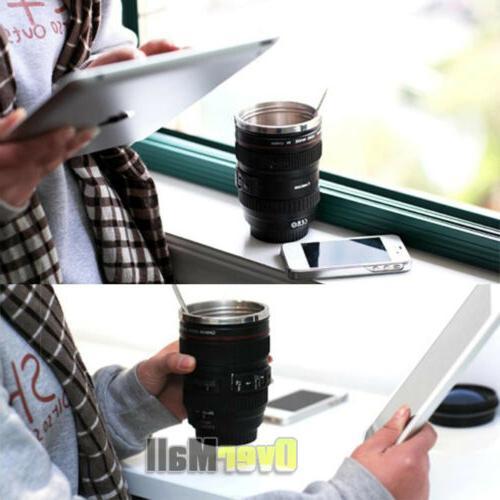 24-105 Lens Coffee Mug Photo Coffee Stainless Travel Thermos