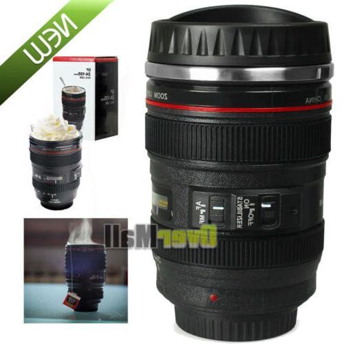 24 105 camera lens coffee mug photo