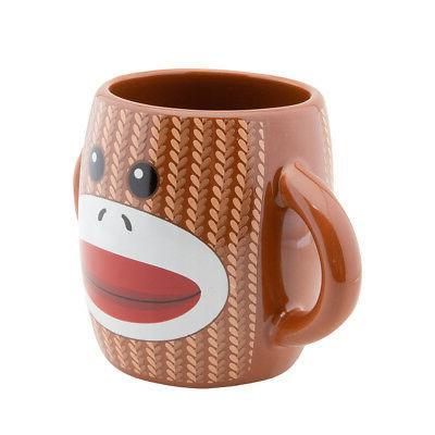 2pk Monkey Coffee Mug Set Mugs Novelty