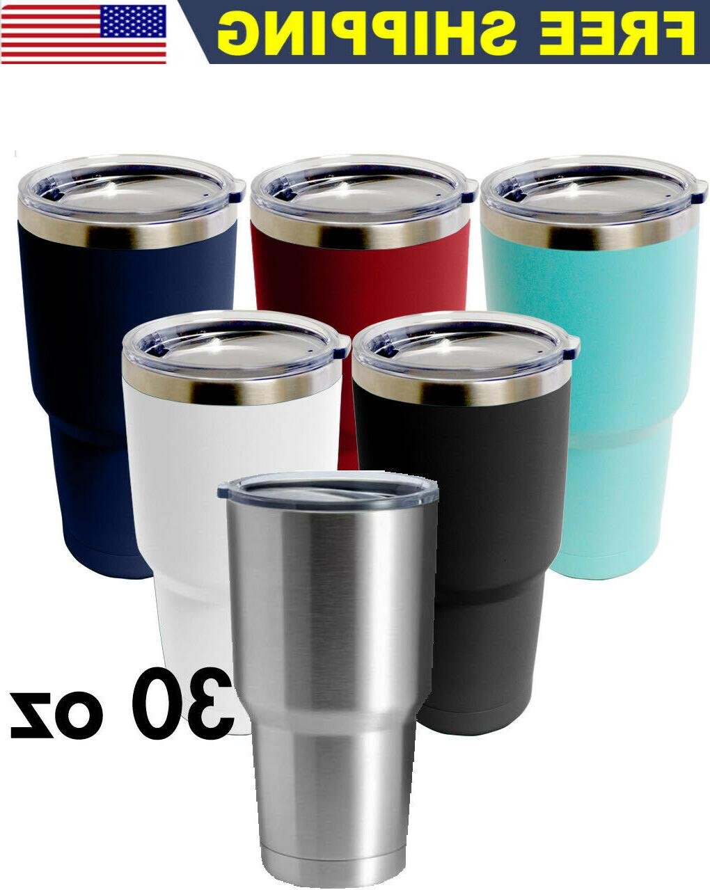 30 oz stainless steel tumbler vacuum double