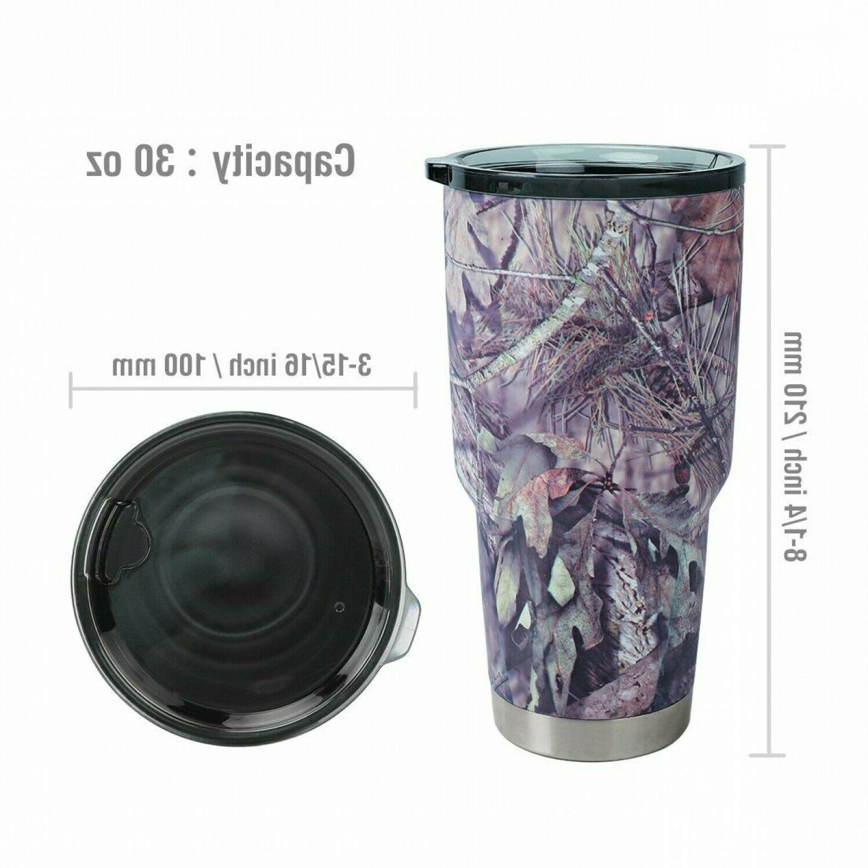 30 Oz Vacuum Insulated Tumbler Yeti Rambler Non-Spill Mug