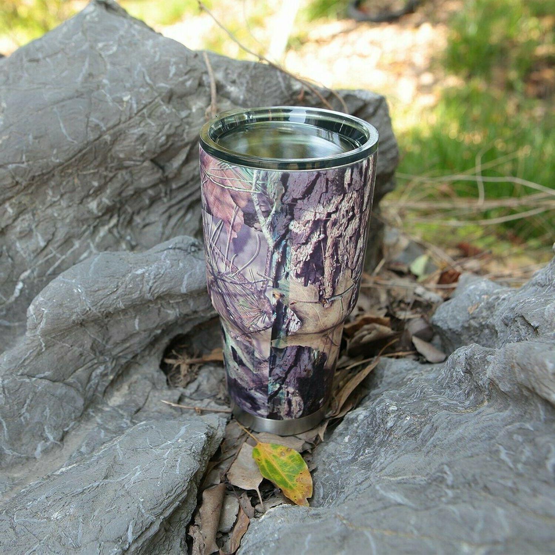30 Oz Vacuum Insulated Tumbler Rambler Cup Non-Spill Travel Coffee Mug