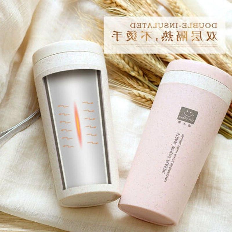 300ml Vacuum Travel School Flask Water Bottle <font><b>Mug</b></font>