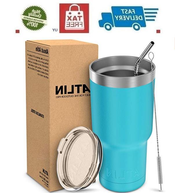 30oz vacuum insulated tumbler yeti rambler cup