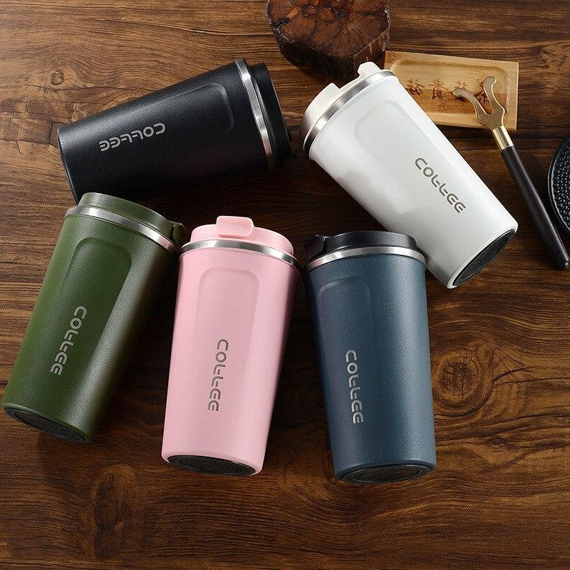380ml/510ml Stainless <font><b>Coffee</b></font> <font><b>Thermos</b></font> <font><b>Mug</b></font> Portable Vacuum Travel Cup Water