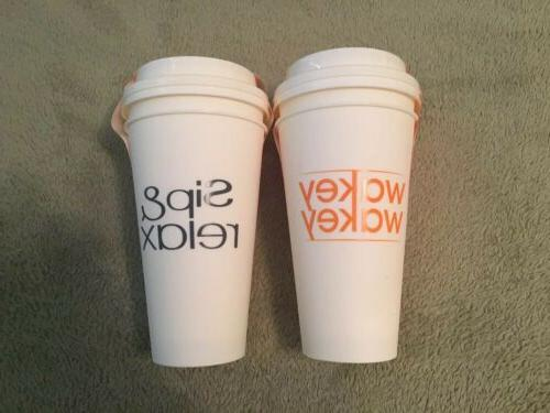 4 Lot Cups 17oz Travel Coffee Mug Dishwasher Microwave Safe