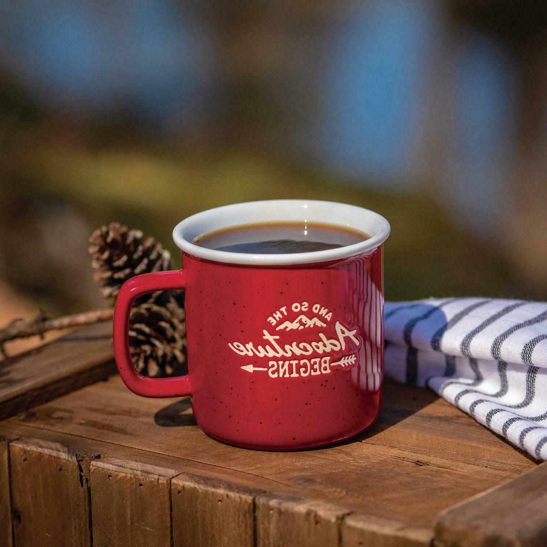 4 CAMPER ADVENTURE COFFEE SET FREE