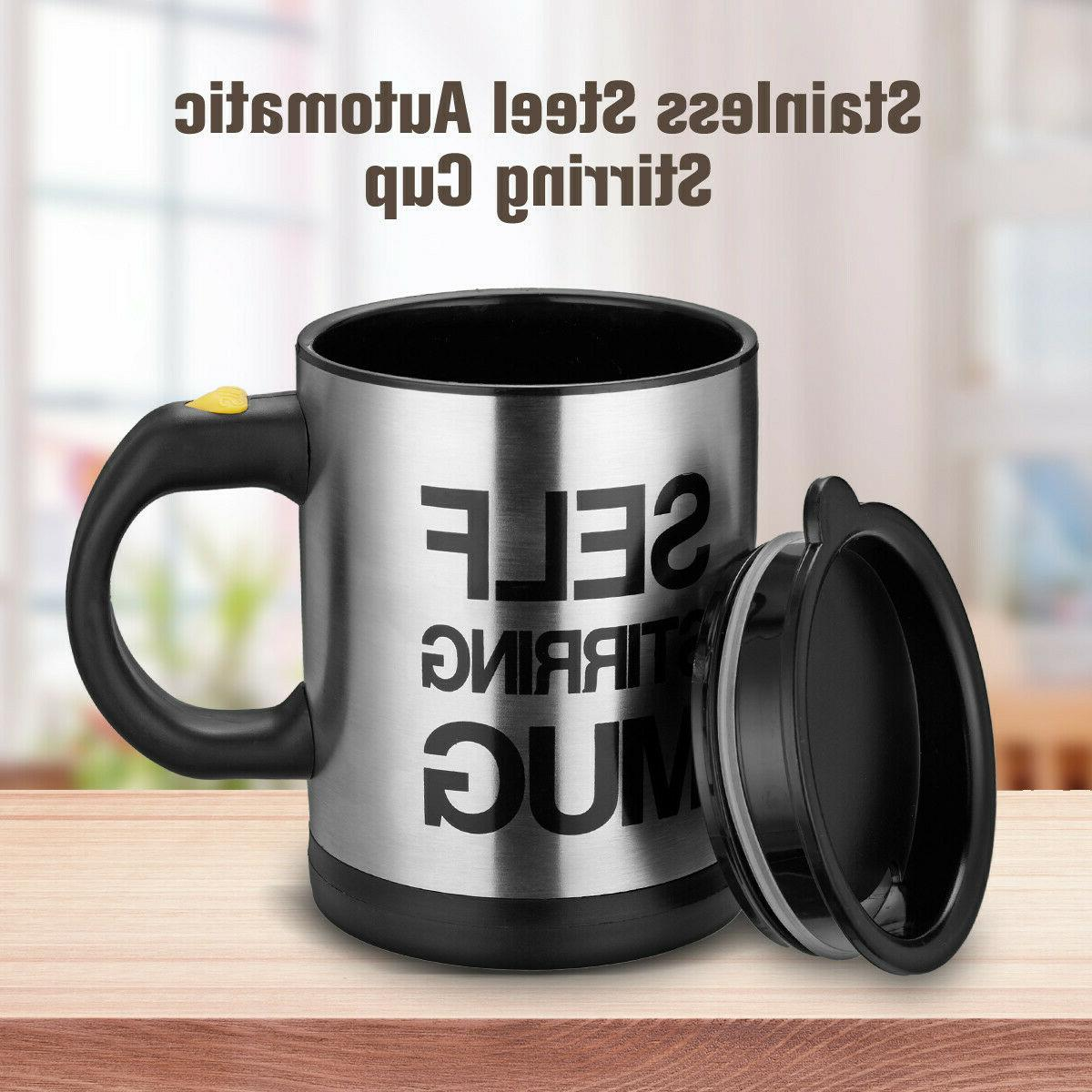 Coffee Cup Auto Drink Stainless