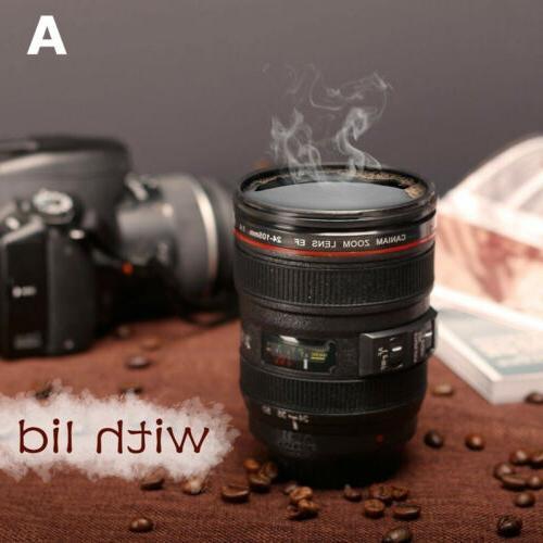 400ML Camera Lens Mug Cup EF 24-105mm Tea Coffee Mug Creativ