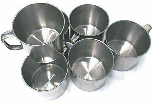 Lot 1-48 Stainless Coffee Soup Mug Cup