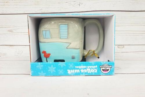 BigMouth Inc Happy Camper Mug, Holds Coffee, Tea, Novelty Mu
