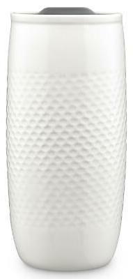 Ello Mesa Double Wall BPA-Free Ceramic Travel Mug with Lid,
