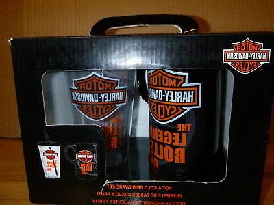 Harley-Davidson Bar & Shield Logo Hot & Cold Drinkware Set,