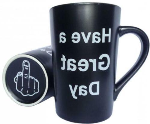 MAUAG Funny Christmas Gifts - Porcelain Coffee Mug Have a Gr