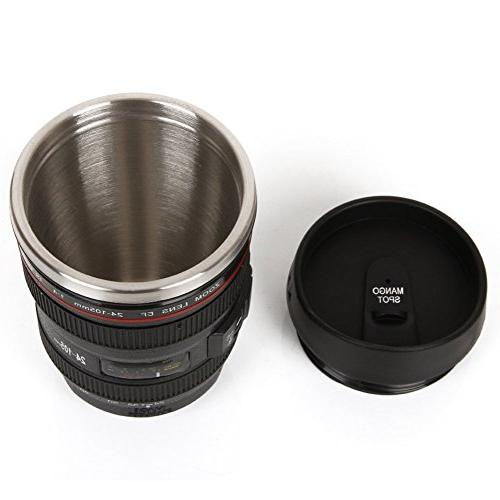 Mango Best Lens Stainless Cup/ for or Tea, Thumb