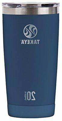 Takeya Actives Insulated Stainless Tumbler with Flip Lid, 20
