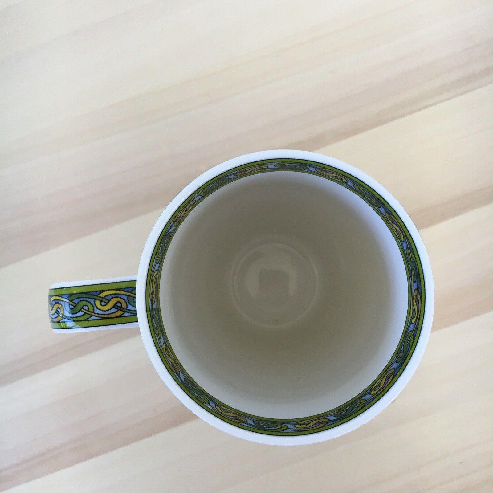 An Irish Irish Weave Bone Coffee Mug Cup