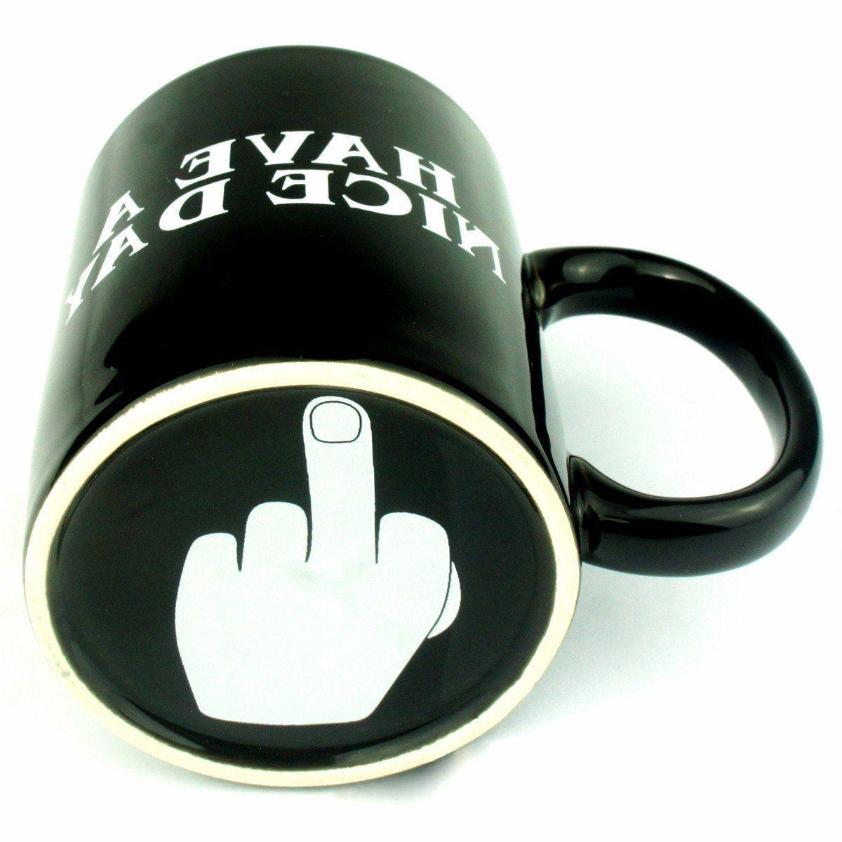 **AUTHENTIC* Have Nice Day Coffee Mug on BOTH SIDES