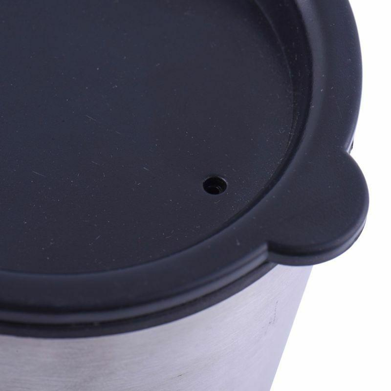 Automatic Self Stirring Mixing Cup Electric Stainless Steel 350ML