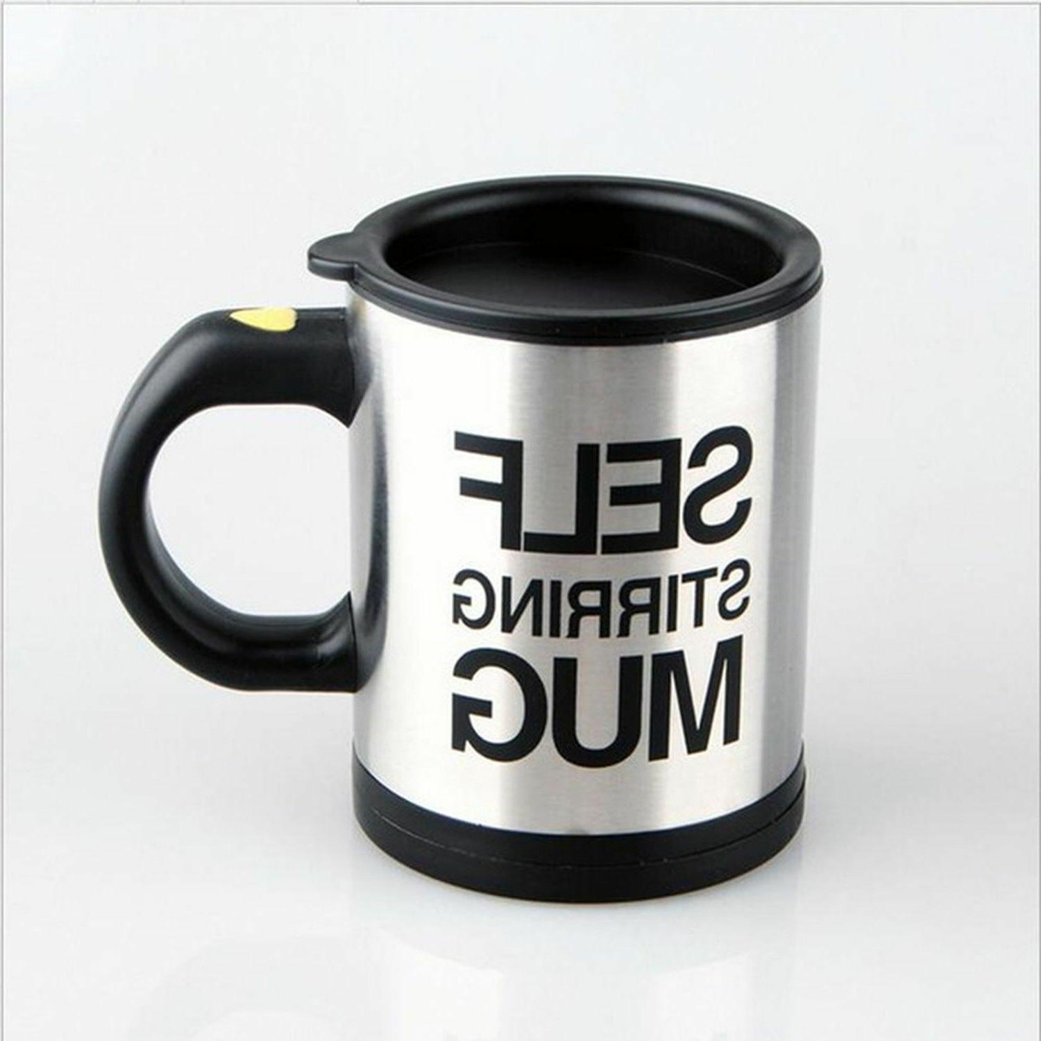 Automatic Mixing Cup Mug Stainless
