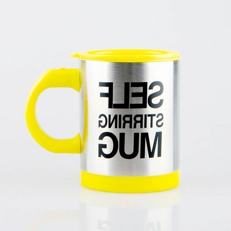 Automatic Stirring Mixing Mug Stainless