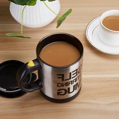 Automatic Stirring Mug Coffee Mixer Home Stainless