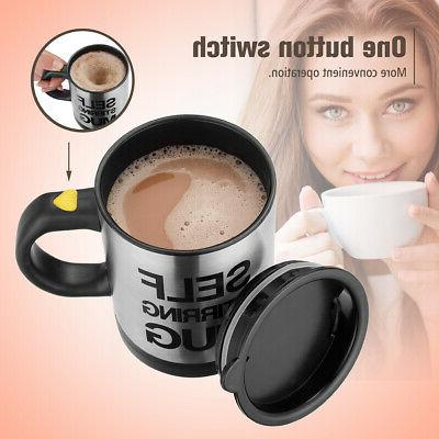Coffee Cup Mixer Tea Home Insulated 400ml