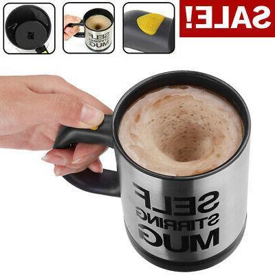 automatic self stirring mug coffee cup mixer
