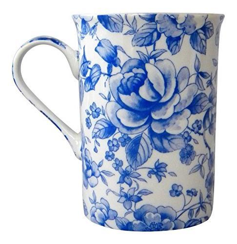 blue rose chatsworth english chintz