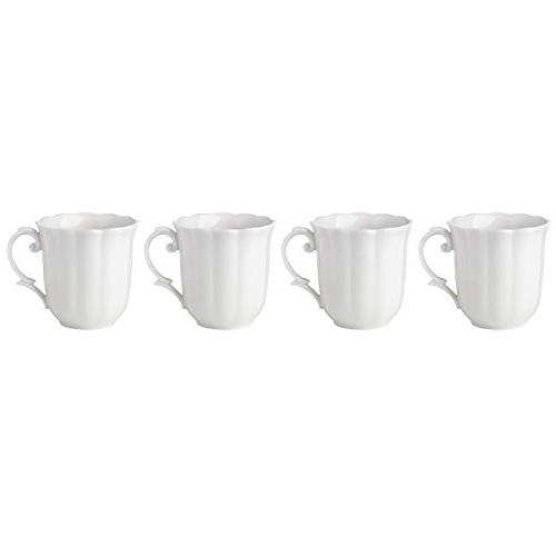 butterfly meadow solid white mugs