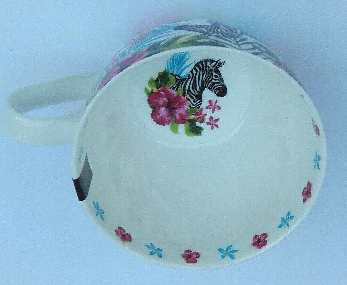 PORTOBELLO BY DESIGN BONE CHINA JUNGLE COFFEE TEA ENGLAND