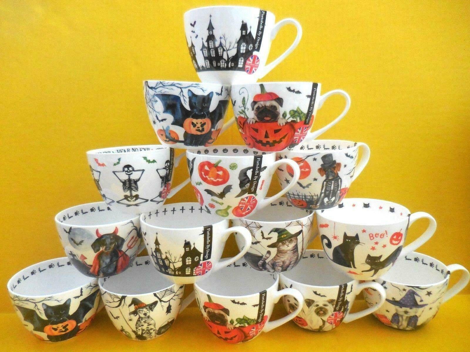 by english design fine bone china halloween