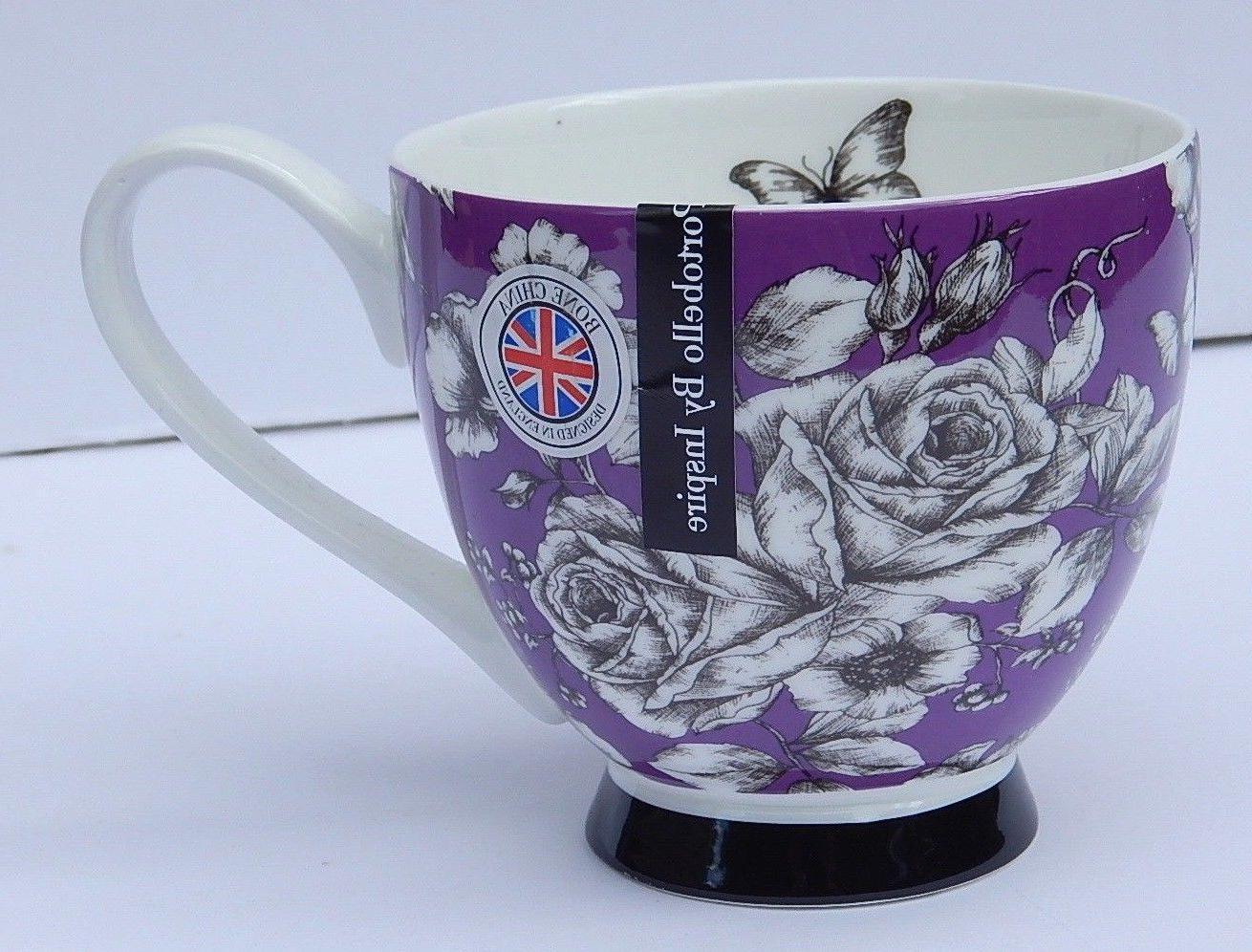by inspire fine bone china purple f