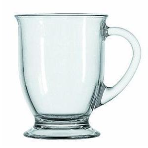 Anchor Cafe Mug - 16 fl oz Mug - Glass - Dishwasher Safe
