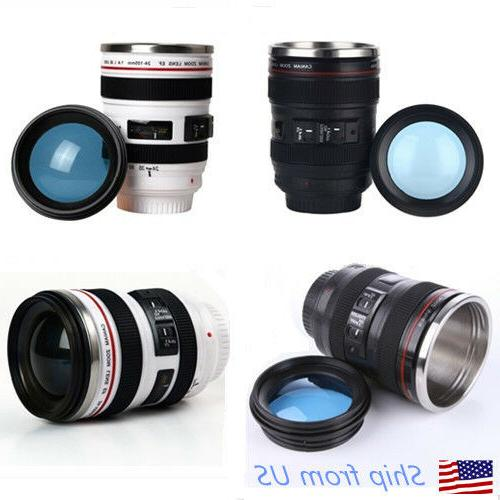 Camera Lens 24-105mm Travel Coffee Mug / Cup with Drinking L