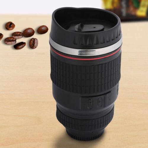 Camera Mug Cup Travel Funny DSLR Stainless Thermos