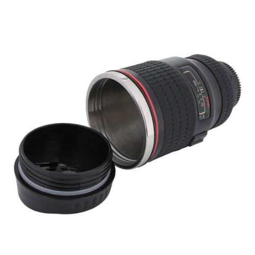 Camera Lens Coffee Mug Cup Tea Funny Thermos