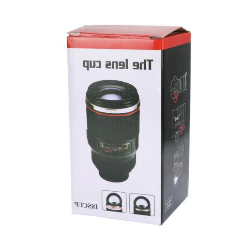 Camera Lens Coffee Cup Funny Steel Thermos