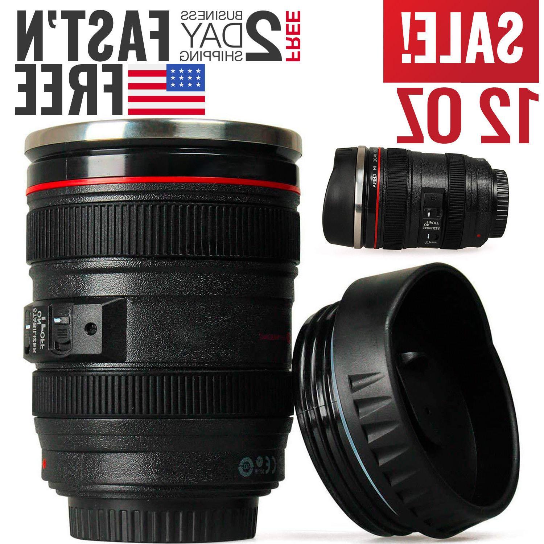 camera lens coffee mug cup tea travel