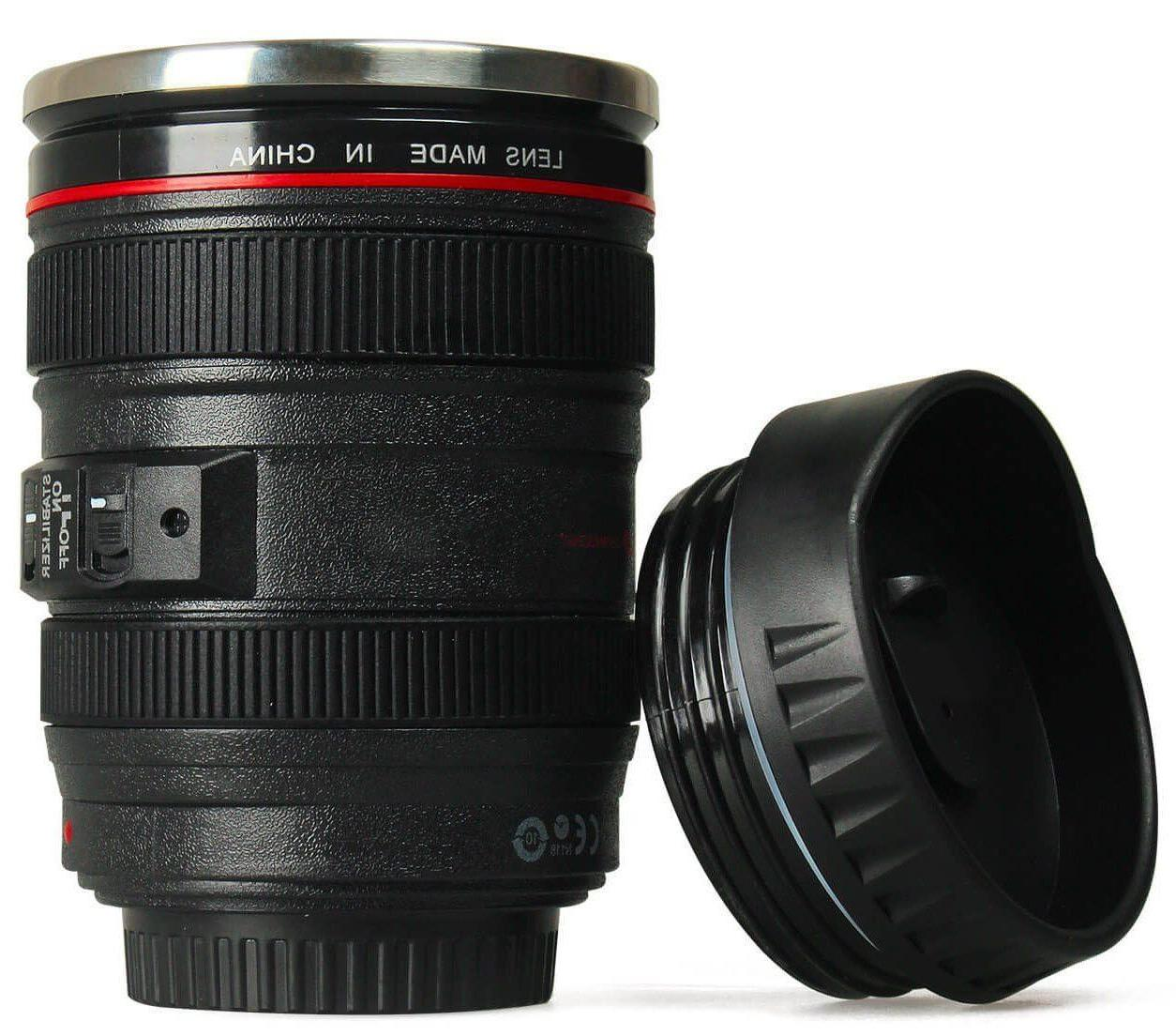 Camera Cup Travel Photo Funny Thermos