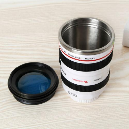 Camera Coffee Travel Stainless