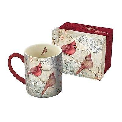 cardinal pair 14 oz mug coffee