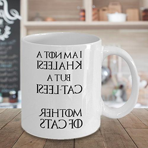 Catleesi am not but cat-lessi, of - oz funny cup for cat