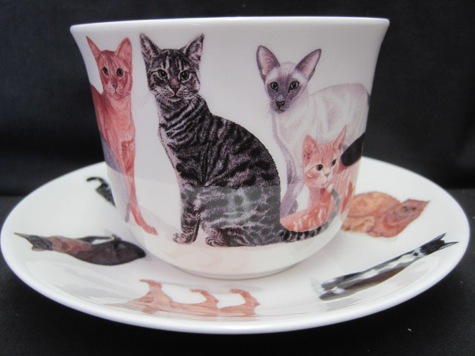 CATS FINE CHINA ROY ENGLAND