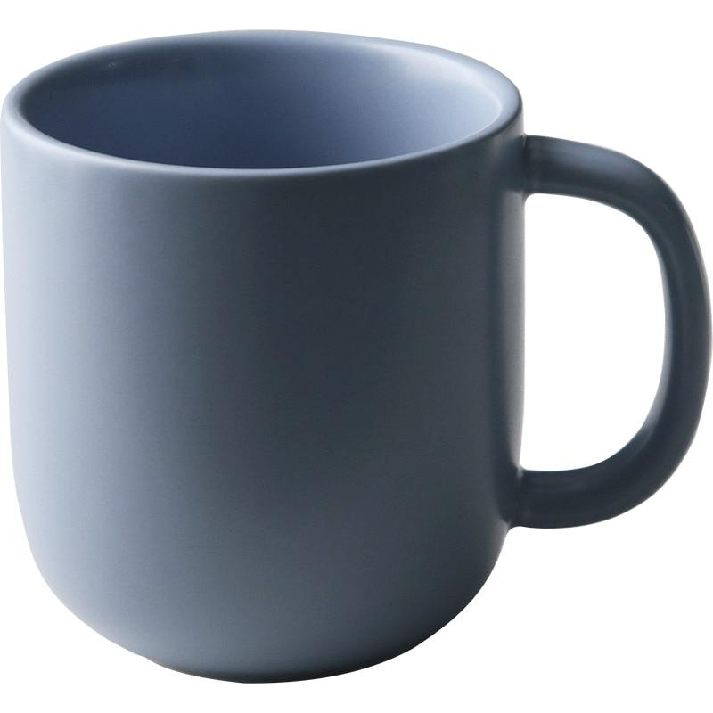 Ceramic Matte <font><b>Coffee</b></font> Cup Creative Office Cup Travel <font><b>Essential</b></font> AKUHOME