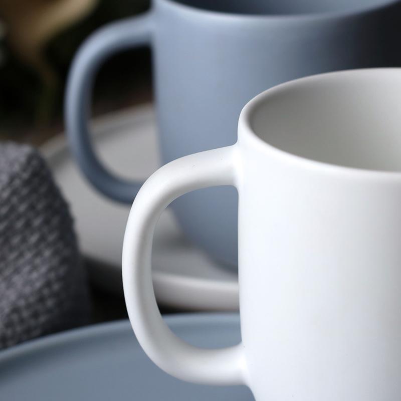 Ceramic Matte <font><b>Coffee</b></font> Cup Creative Office Travel <font><b>Essential</b></font>