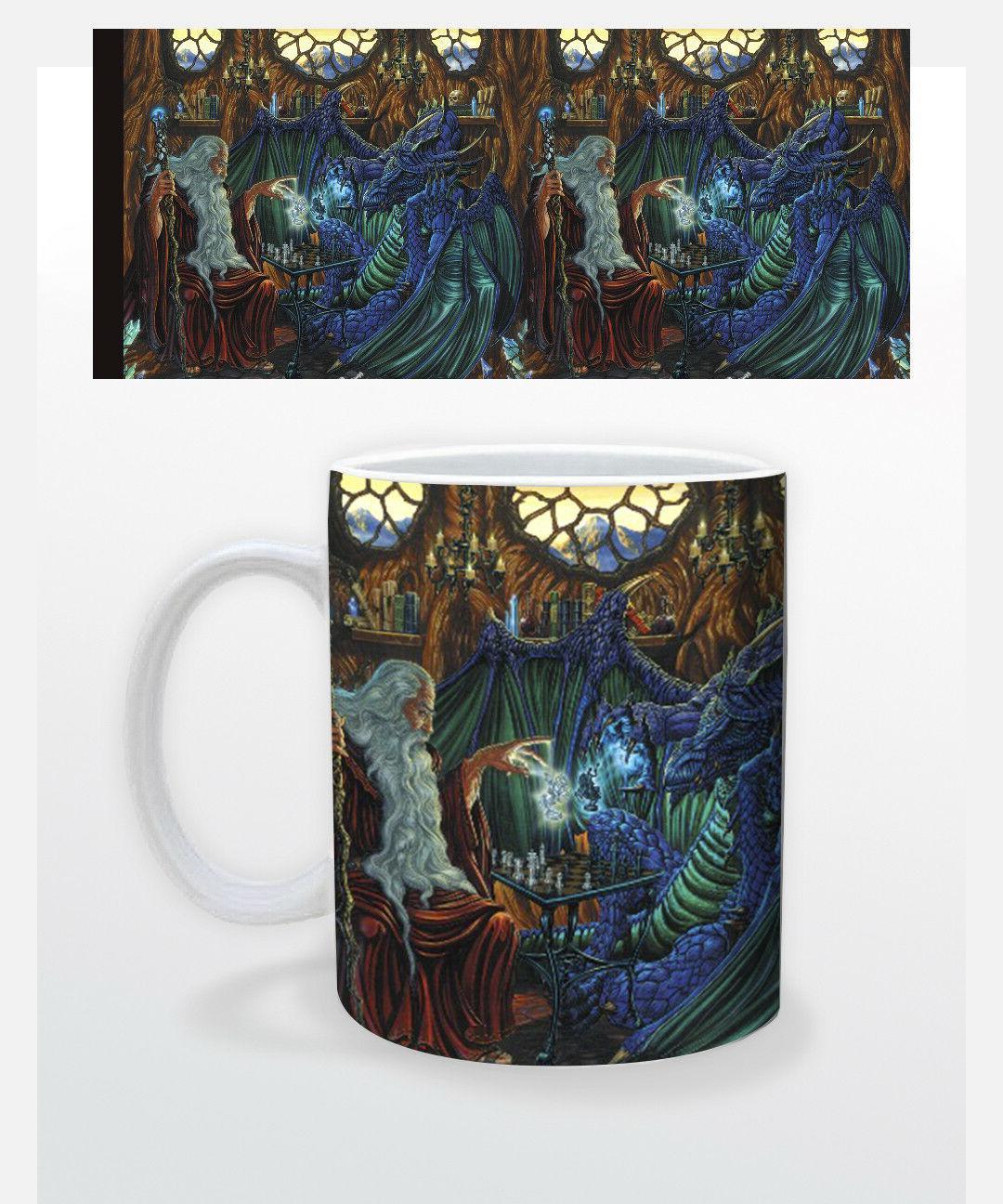 chess 11 oz coffee mug tea cup