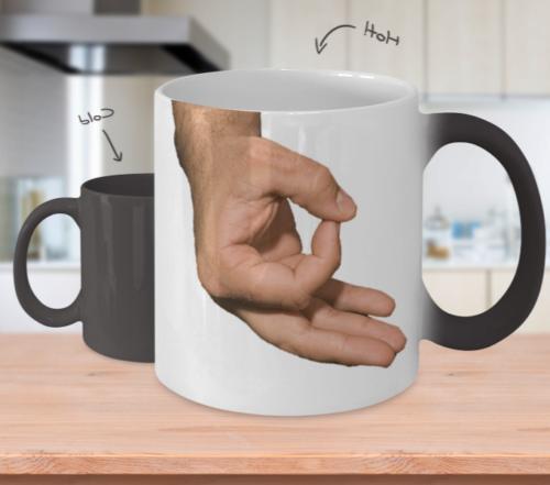 circle game mug coffee mug color changing