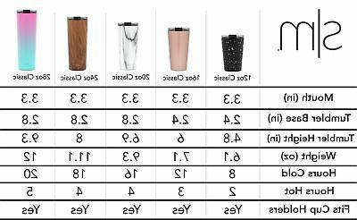 Simple Modern Classic with Flip Straws Insulated Mug
