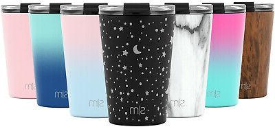 classic tumbler with flip lid and straws
